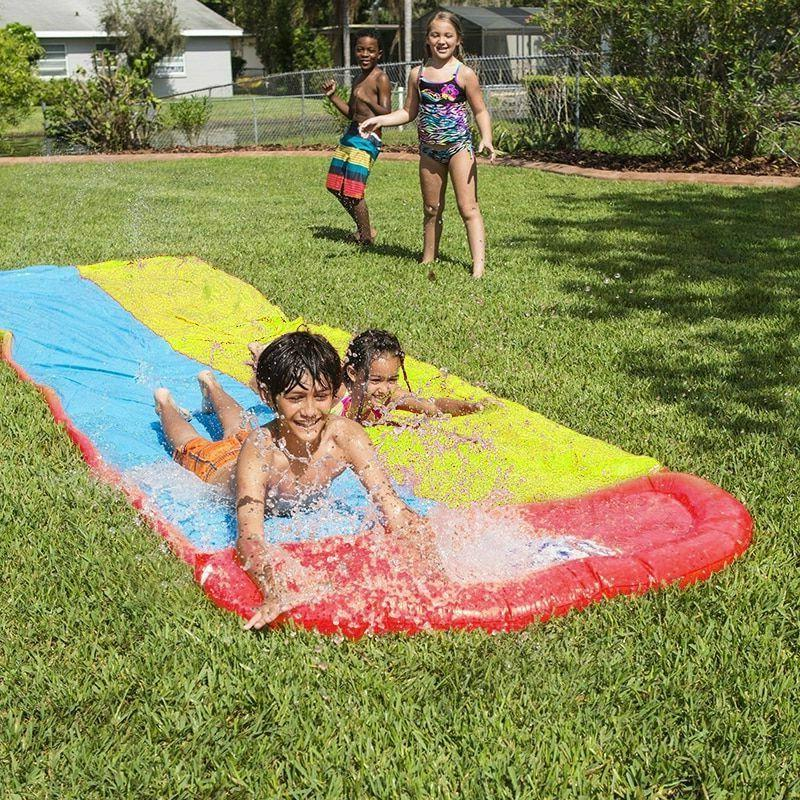 Children Summer Water Slide Surf Lawn Slides Kids Games Toys