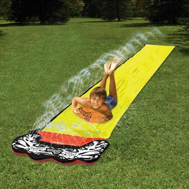 Children Summer Slide Surf Lawn Water Slides Outdoor