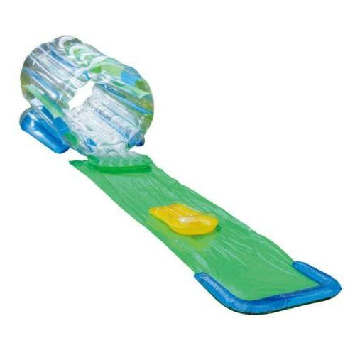 clear inflatable splash tunnel slide toy pool