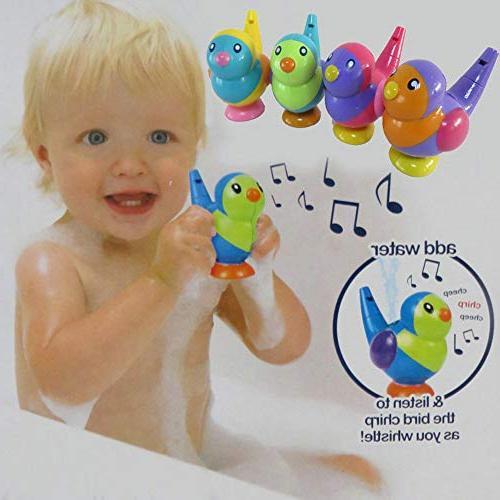 CMrtew Instrument Baby Painted Waterfowl Bath Toys Birdcall Add Children Swim