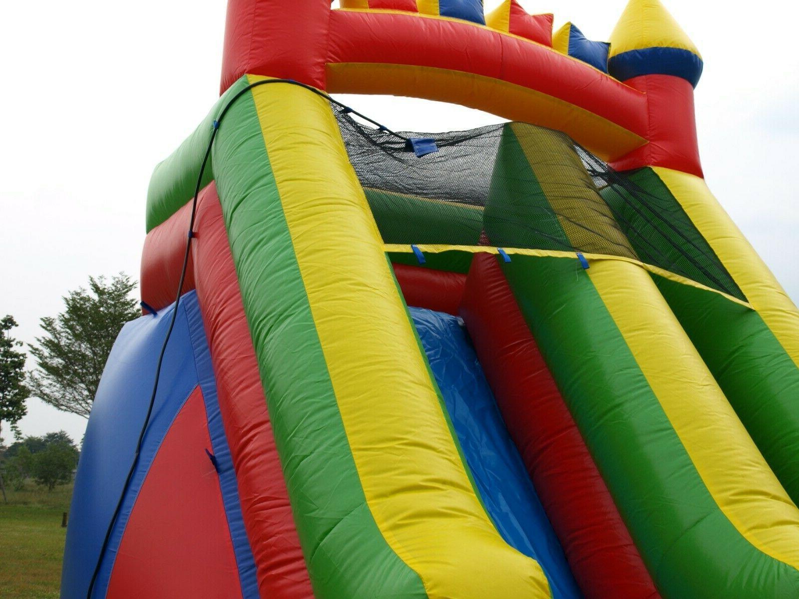Commercial Slide Rainbow Feet Tall Blower