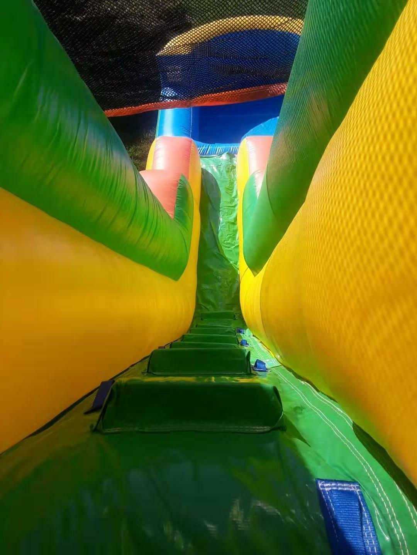 Commercial Grade Slide Tall PVC & Blower