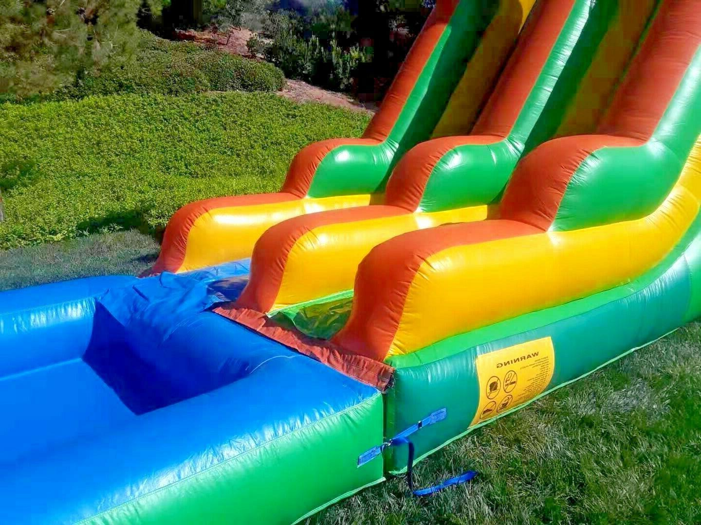Commercial Inflatable Slide Feet Tall PVC Blower