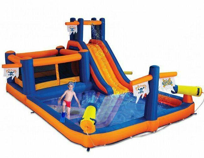 Commercial Inflatable Bounce House Combo with Water Slide Sp