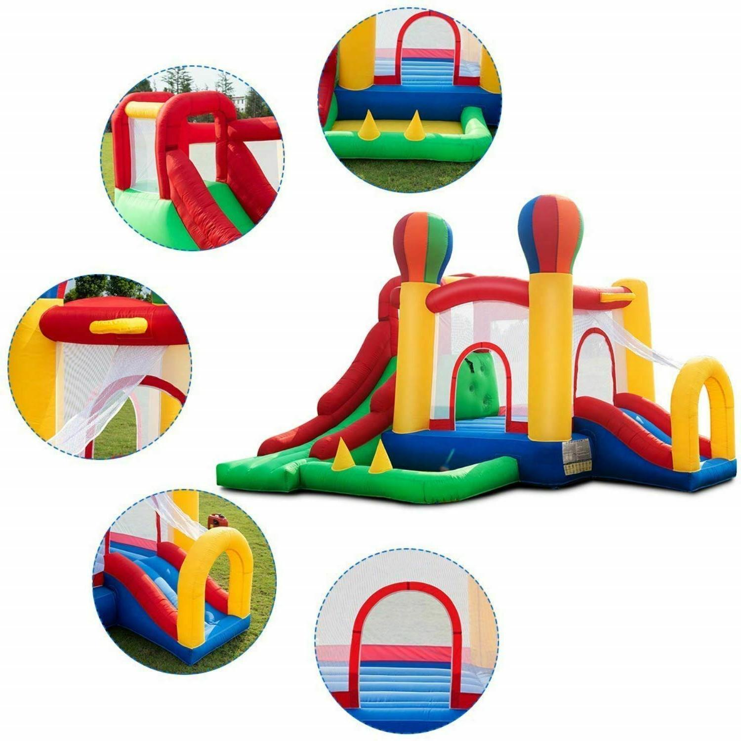 Commercial House Kids Castle Jumping New