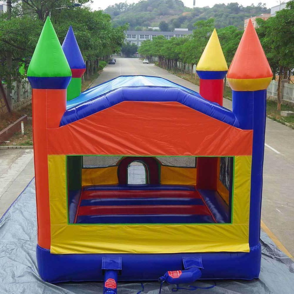 Commercial Inflatable TRIO Slide House Moonwalk