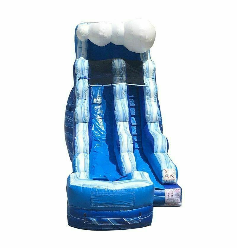 Commercial Inflatable Slide Combo Bounce House