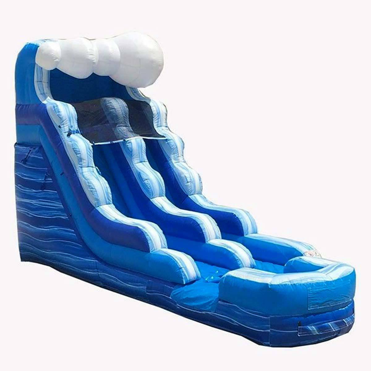 Commercial Slide Wet/Dry House Moonwalk