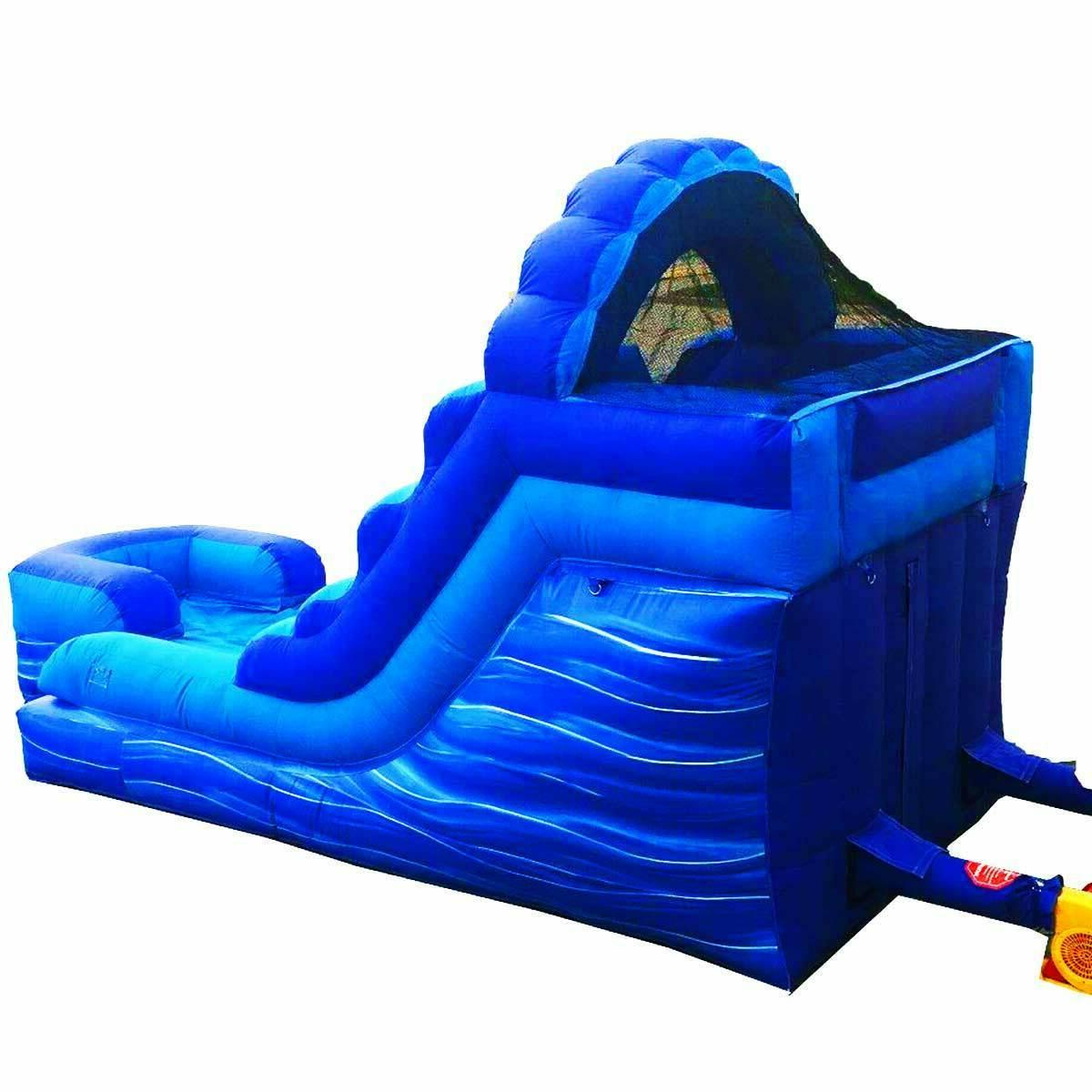 Commercial Inflatable Water Slide With Blower Wet 15 Vinyl