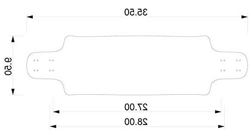 DB Longboards Contra Multicolor Longboard