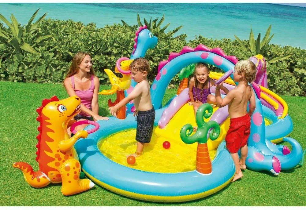 Intex Swim Play Center Kiddie Pool Water