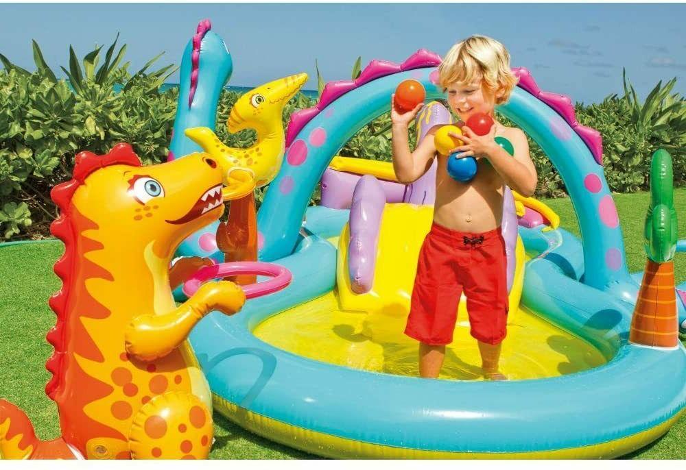 Intex Dinosaur Swim Pool Water