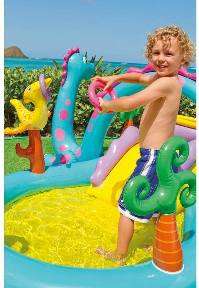 Intex Swim Play Pool Water Slide