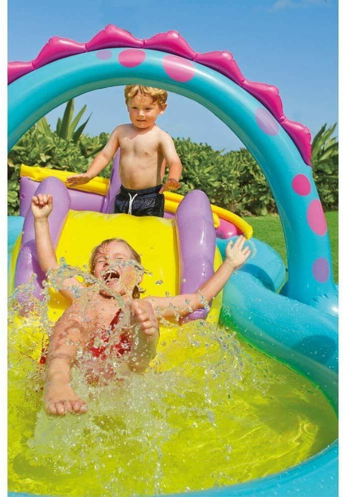 Intex Dinosaur Inflatable Swim Play Center Pool