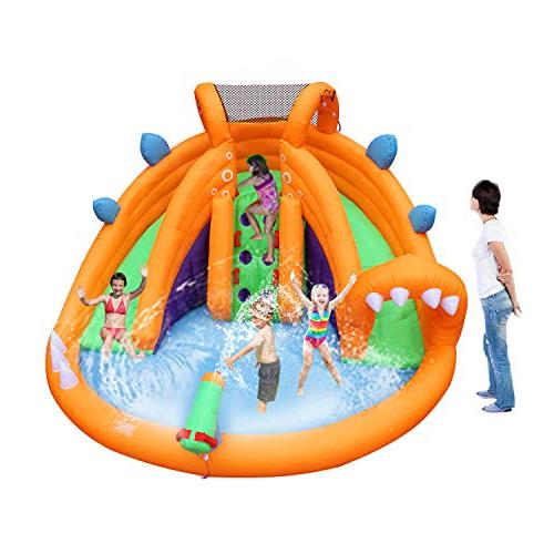 BestParty Inflatable Slide Bounce