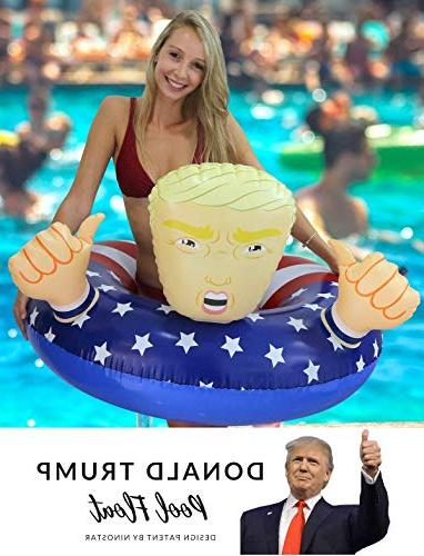 "NinoStar Pool Trump 42"" Best Summer 2017 Inflatable Swimming Floats for"