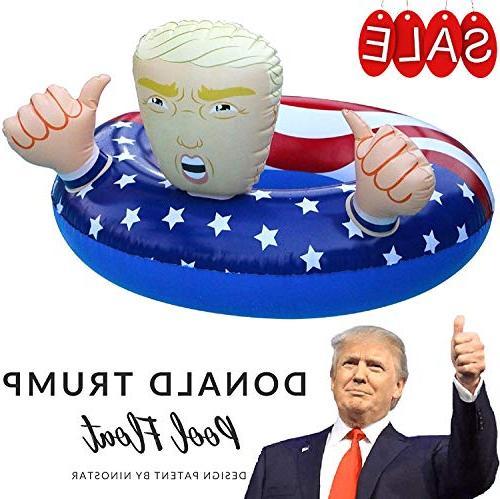 donald trump pool float summer