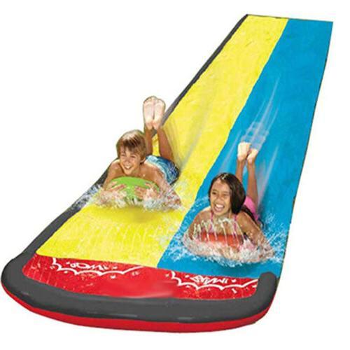 Double Water Slide Lawn slide Large Slide