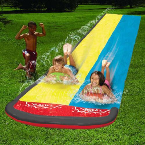 Double Slide Lawn slide Large Water Slide