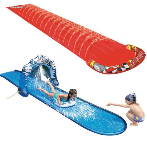 Double Water Inflatable Lawn and slide Large Slide