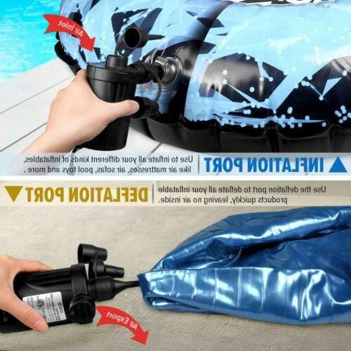 Electric Pump Mattress Portable Inflatables Floats
