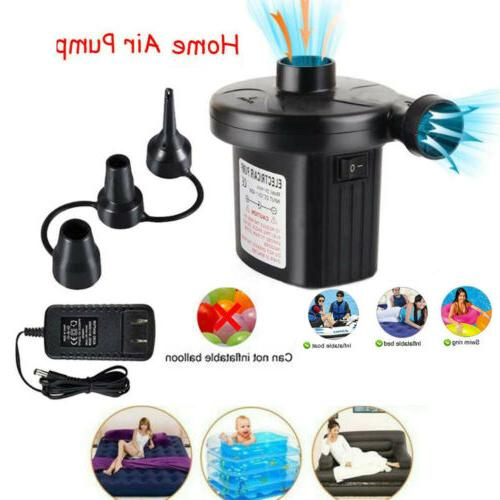 electric air pump air mattress portable pump