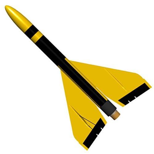 flying model rocket kit gyroc