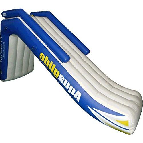 freefall inflatable pontoon slide