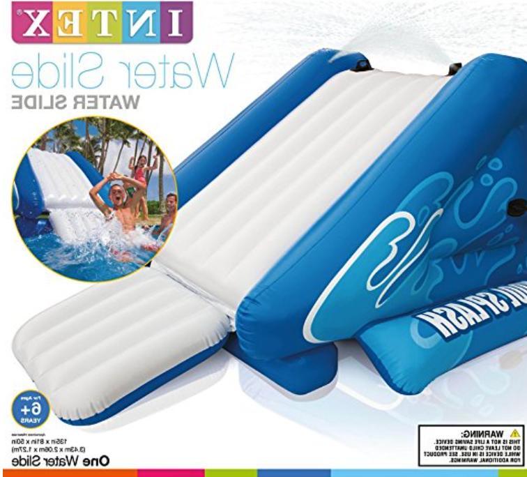 Inflatable Pool Toy Play Waterslide Splash