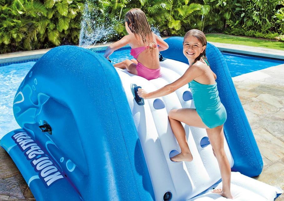 Inflatable Slide Summer Pool Play Center