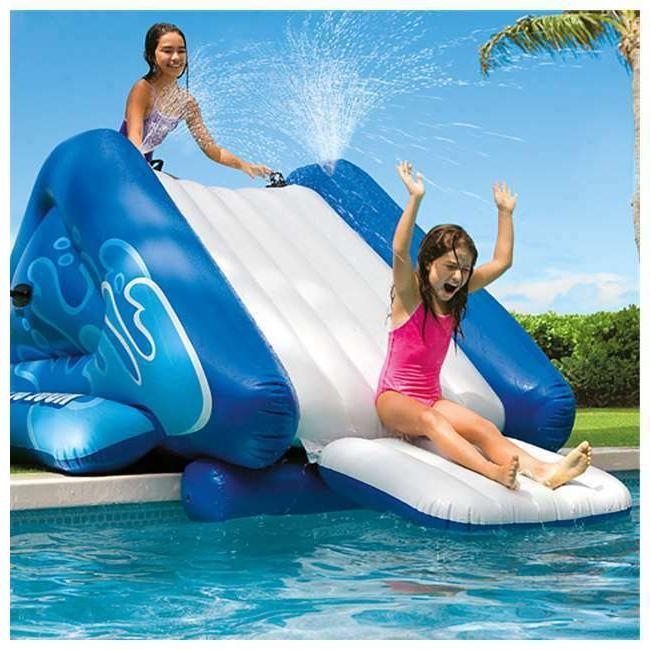 Giant Kids Water Slide Outdoor Fun Summer Games