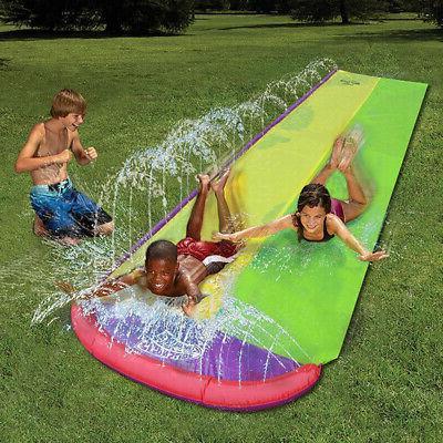 Giant Water Slide Summer Games Center Backyard-Outdoor Child