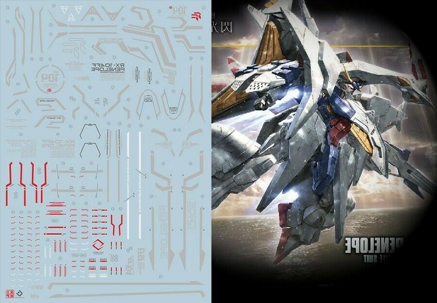 Gundam modeling water slide decal SIMP sticker C31