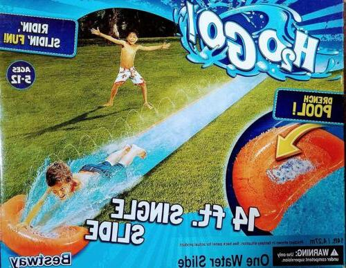 H20 Water Slide Kids Summer Outdoor w/Drench -H2O