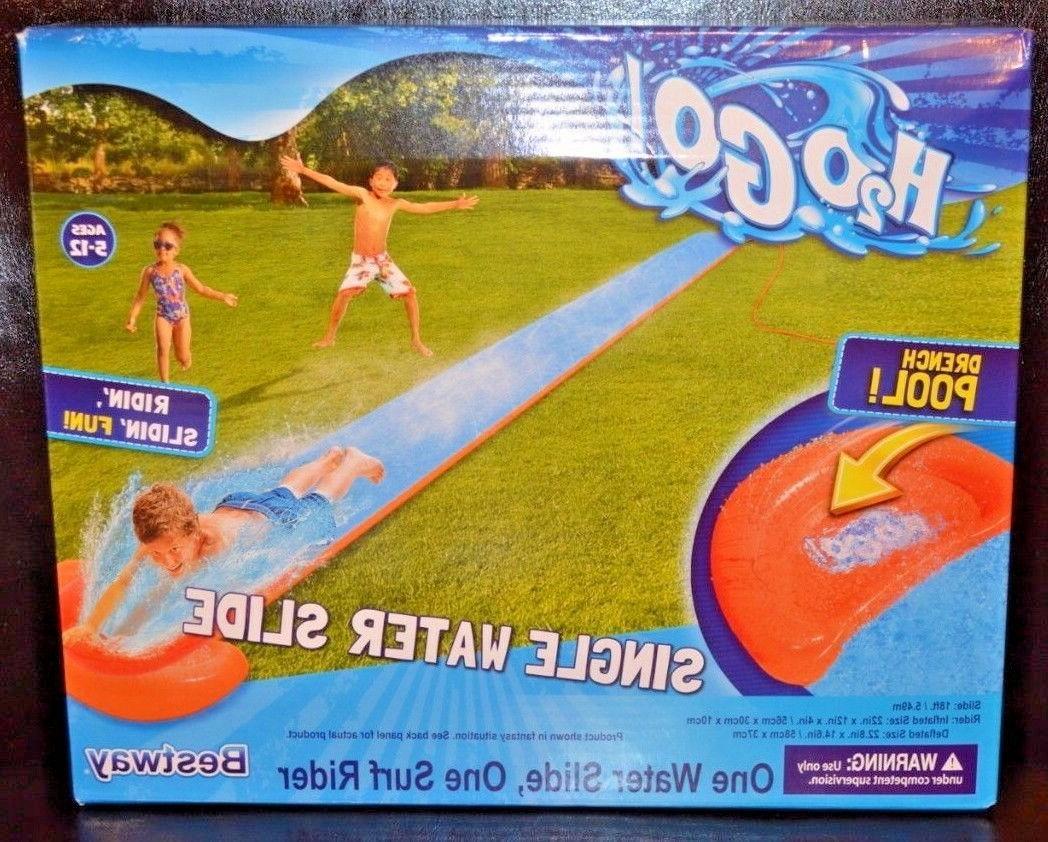 h2o go 18 water slide pool loungers