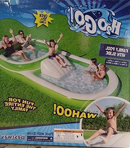 H2O Go! Dual Family Pool 12ft with Slide