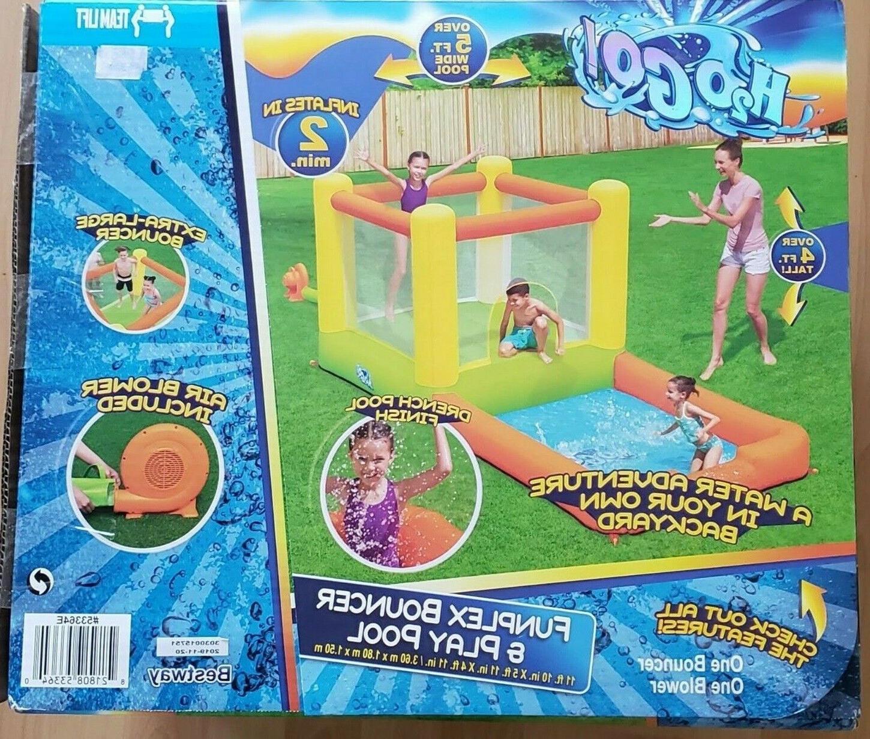 h2ogo splash and dash kids inflatable bounce