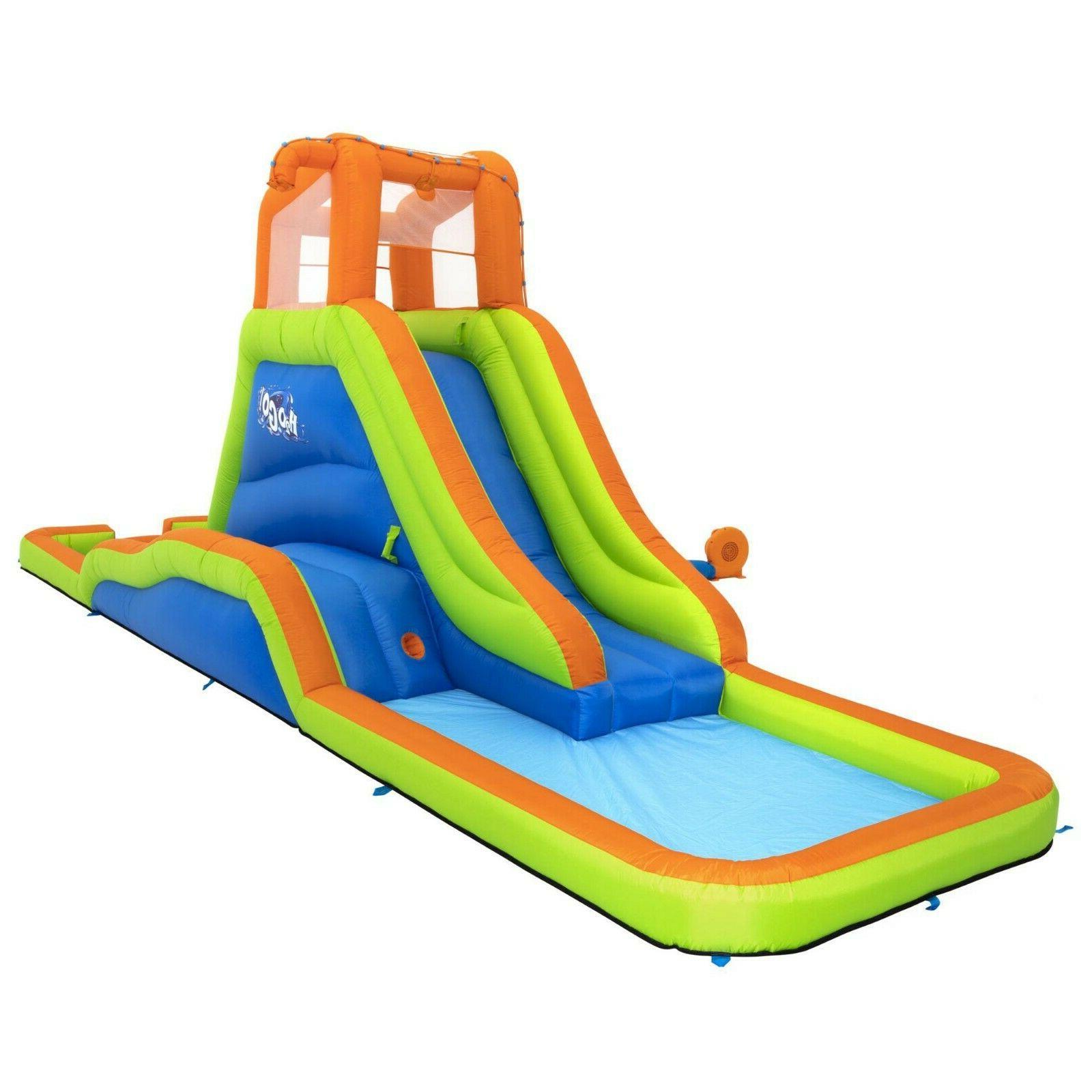 h2ogo splash tower kids inflatable mega water