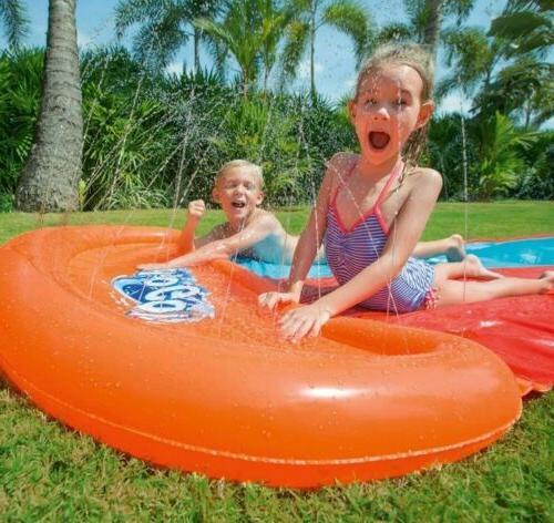 H2OGO! Slide Long 18ft Double Slider Kids Toy Outdoor