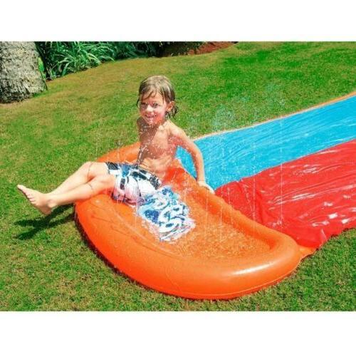 H2OGO! Slide Toy Mat Garden Outdoor