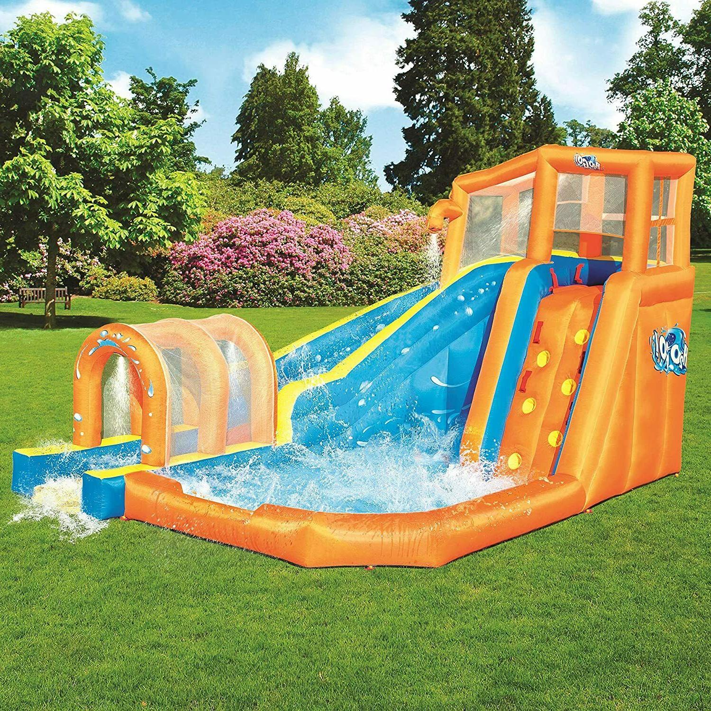 hurricane outdoor water inflatable slide jumper bouncer