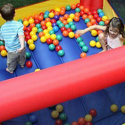 In/Outdoor Inflatable Bounce House Blower Bouncer Jump Slide Party