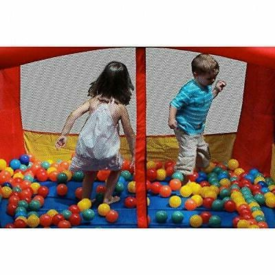 In/Outdoor Castle Inflatable House Blower Bouncer Slide