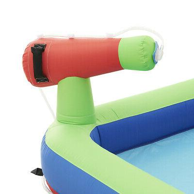Water Park Bouncing House Water Cannon Air Blower