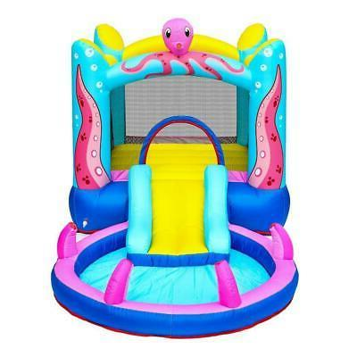 Inflatable Bounce Castle Water Slide