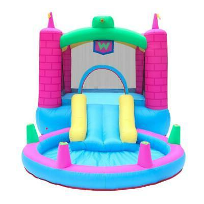 Inflatable Bounce House Play Jump Castle Water Air Blower