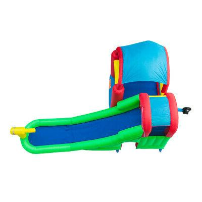 Inflatable Bounce House Jumper Kids W/ Slide Blower