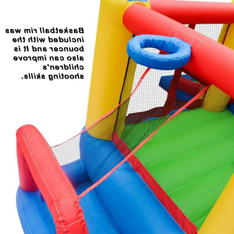 Inflatable Castle Kids Slide with