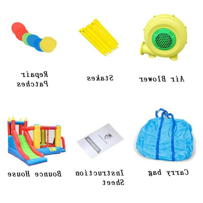 Inflatable Bounce House Castle Kids with Blower