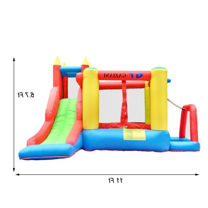 Inflatable House Kids Slide Bouncer with Blower
